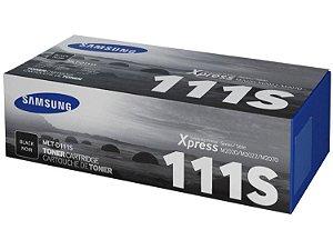 Toner Original Samsung 111S Preto - MLT-D111S M2020 M2020W M2022 M2070