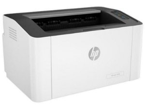 Impressora HP Laser 107W Preto e Branco Wi-Fi - USB