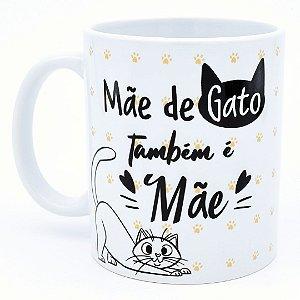 Caneca Mãe de Gato também é Mãe