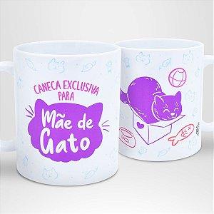 Caneca Exclusiva para Mãe de Gato