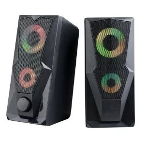 WARRIOR CAIXA DE SOM GAMER 2.0 15W LED RGB SP330