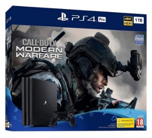 Console Playstation 4 Pro 1TB Call Of Duty Modern Warfare Bundle - Sony