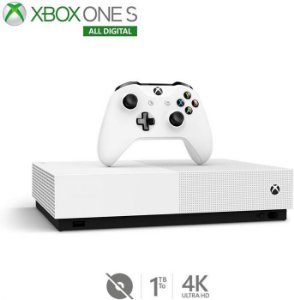 Console Xbox One S 1TB All Digital - Microsoft