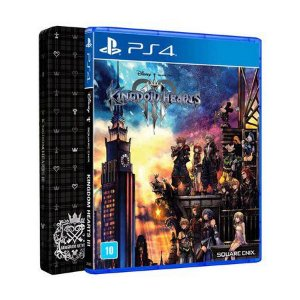 PS4 KINGDOM HEARTS III + STEELBOOK - SQUARE ENIX