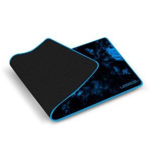 WARRIOR MOUSE PAD TECLADO E MOUSE AZUL AC303