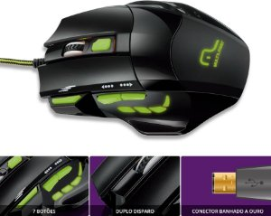 WARRIOR MOUSE XGAMER FIRE MO208
