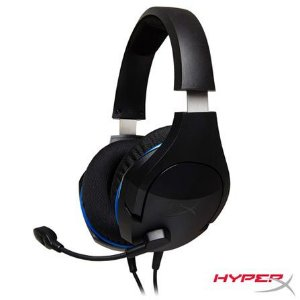 HYPERX HEADSET GAMER CLOUD STINGER PS4 HX-HSCSS-BK/AM