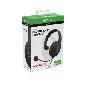 HYPERX HEADSET GAMER CLOUDX CHAT XBOX HX-HSCCHX-BK/WW