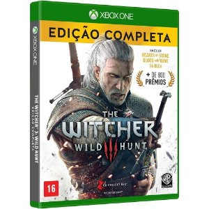 XBOX ONE THE WITCHER III WILD HUNT