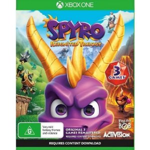 XBOX ONE SPYRO REIGNITED TRILOGY