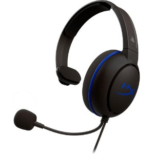 HYPERX HEADSET GAMER CLOUD CHAT PS4 HX-HSCCHS-BK/AM