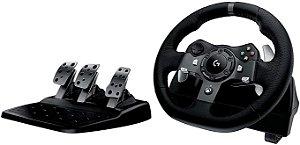 VOLANTE LOGITECH G920 DRIVING FORCE PARA XBOX SERIES X|S, XBOX ONE E PC