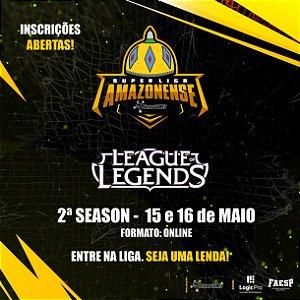INSCRIÇÃO SUPERLIGA AMAZONENSE - League of Legends