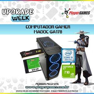 COMPUTADOR GAMER MADOC - INTEL I5 9ºGER GEFORCE GT 710 8GB SSD 120GB H310 BIOSTAR FONTE 500W