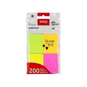 Blocos Adesivos Keep 38X50 C/4 Cores 50F
