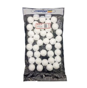 Bolas de Isopor 40MM PCT C/40 UND