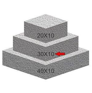 Base de Isopor Quadrada 30X10 Bolo Fake