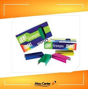 Grampos Yes Colors TOT N10 P/Grampeador 1000 UND