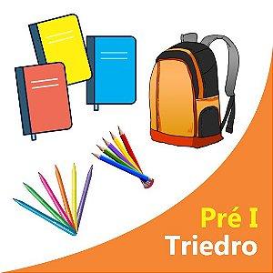 Lista Escolar Pré I - Triedro - Bronze Economica