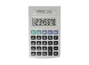 Calculadora De Bolso Procalc Pc082 C/8 Dígitos