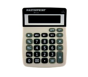 Calculadora De Mesa Masterprint Mp 1012  C/12 Dígitos