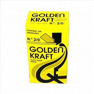 Clips P/Papel Golden Kraft N°2/0 500G