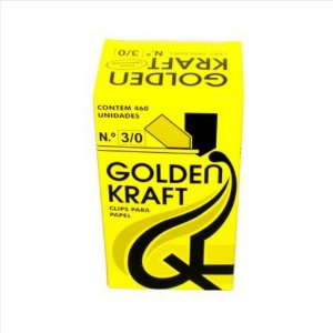 Clips P/Papel Golden Kraft N°3/0 500G