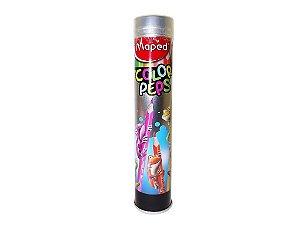 Lápis De Cor Maped Color Peps Lata 12 Cores