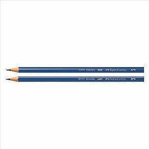 Lápis Preto Escolar Faber-Castell Max Azul