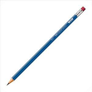 Lápis Preto Escolar Faber-Castell Max Azul C/Borracha