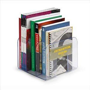 Organizador P/Livros Waleu Standard  C/3 Divisões