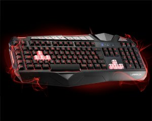 Teclado Gamer Usb Multilaser Warrior Led Tc209 Abnt 2