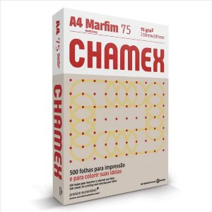 Papel Chamex 500F A4 75Gr Cor Marfim