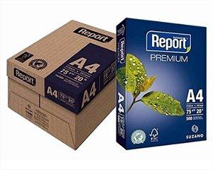 Caixa De Papel Report 5000F A4 75Gr C/10Pcts