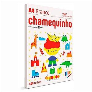 Papel Chamequinho 100F A4 75Gr Branco