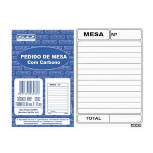 Pedido De Mesa SD Carbono 69815