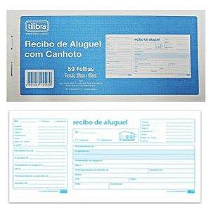 Recibo de Aluguel com Canhoto Tilibra 50 Folhas 151432