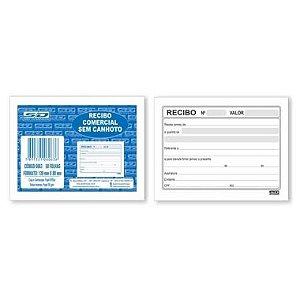 Recibo Comercial sem Canhoto SD 50 Folhas 60632