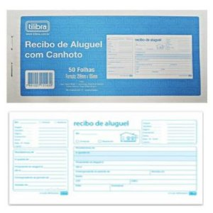 Recibo de Empregado(a) Doméstico(a) Tilibra 26 Folhas 153427