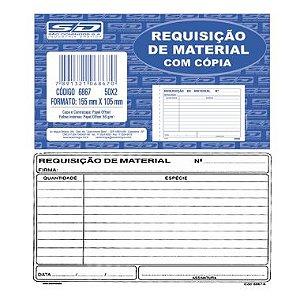 Requisição de Material com Cópia SD 68676
