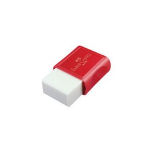 Borracha Faber-Castell TK Plast Pequena