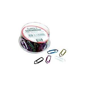 Clips Colorido ACC N 5 Metalizado C/100 UND