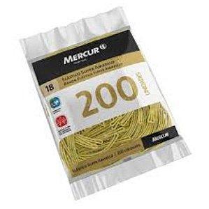 Elástico Mercur Super Amarelo N°18 Fino 100G 200und