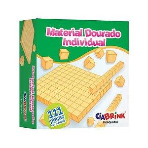 Material Dourado Ciabrink 111 Peças Madeira
