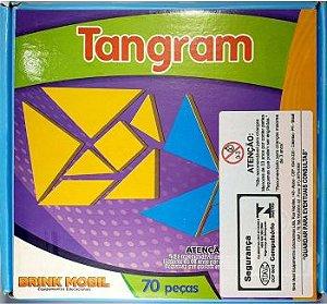 Tangram Brink Mobil 70 Peças Madeira