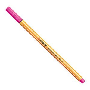 Caneta Stabilo Point 88 Rosa Neon 056