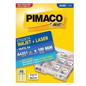Etiqueta Pimaco C/100 A4351 (65) A4