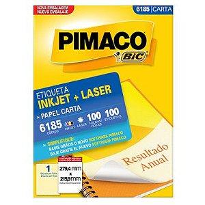 Etiqueta Pimaco C/100 6185 (1) Carta
