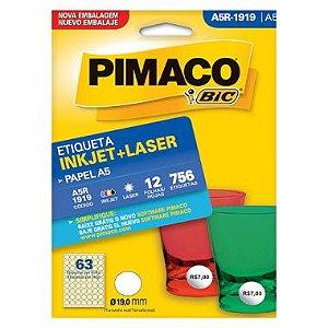 Etiqueta A5 R1919 Pimaco