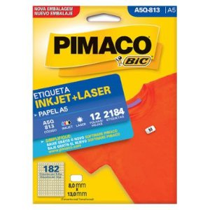Etiqueta A5 Q813 Pimaco